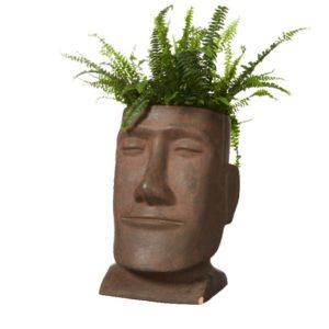 Hodefigur Vase