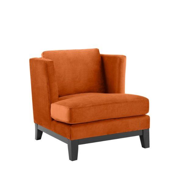 Hamilton Velour Orange
